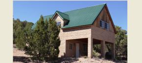 Seligman arizona real estate for Cinder block cabin